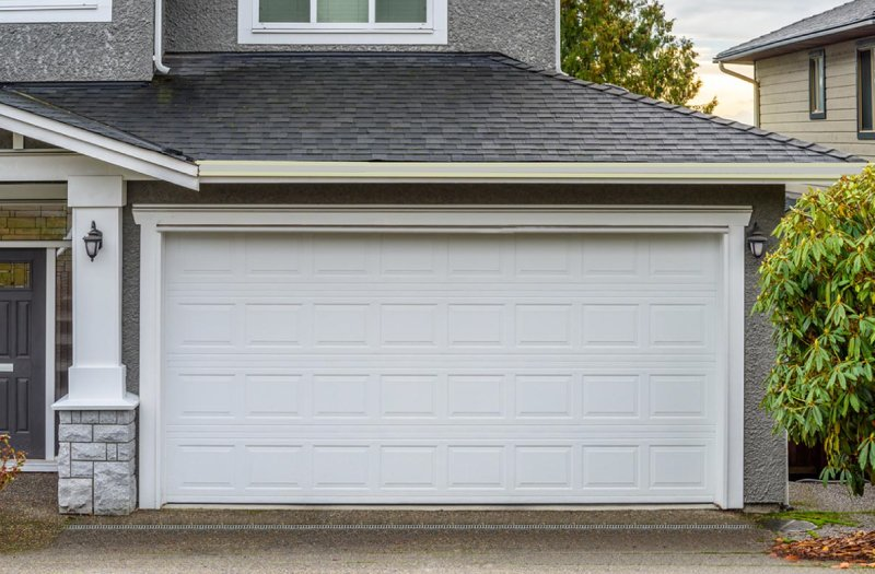 hurricane impact glass garage doors